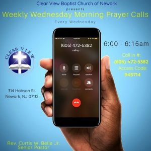 Prayer Conference Call @ Newark | New Jersey | United States