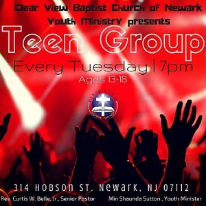 Teen Group @ Clear View Baptist Church | Newark | New Jersey | United States